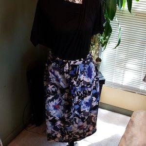 Lane Bryant Skirts - NWT Lane Bryant Higher Waisted Floral Pencil Midi